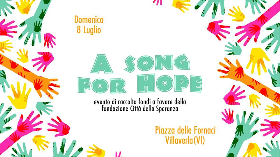 locandina dell'evento A Song for Hope