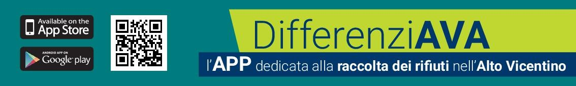 banner per scansione QrCode dell'app DifferenziAVA